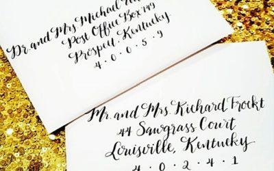 Recent Calligraphy: Modern Bounce Script